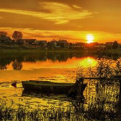 Пазл онлайн: Река Сясь