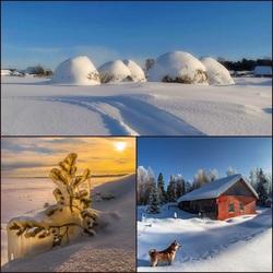 Пазл онлайн: Зима в России