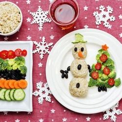 Пазл онлайн: Новогодний завтрак