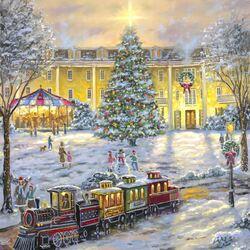 Пазл онлайн: Рождественская елка