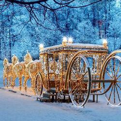 Пазл онлайн: Новогодняя сказка в Царицыно