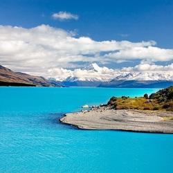 Пазл онлайн: Изумрудное озеро