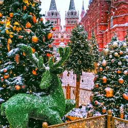 Пазл онлайн: Москва праздничная
