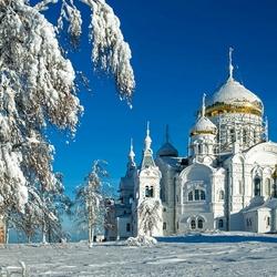 Пазл онлайн: Белогорский монастырь