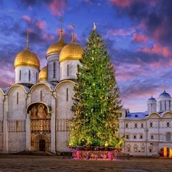 Пазл онлайн: Москва  -  2019