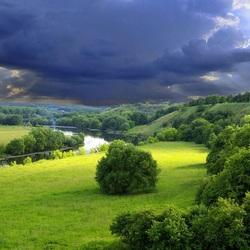 Пазл онлайн: Грозовое небо