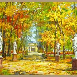 Пазл онлайн: Летний сад. Санкт-Петербург