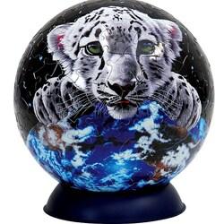 Пазл онлайн: Пазлошар с тигренком
