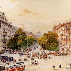 Пазл онлайн: Вена. Кертнерринг