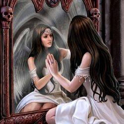 Пазл онлайн: Зеркало истины