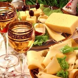 Пазл онлайн: Сырная закуска