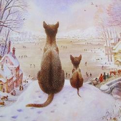 Пазл онлайн: Первая зима