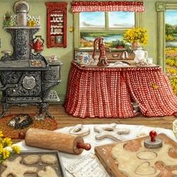 Пазл онлайн: День печенья