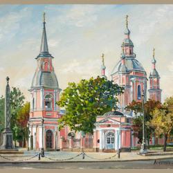 Пазл онлайн: Андреевский собор. Санкт-Петербург