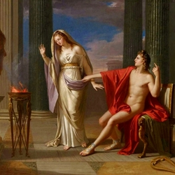 Пазл онлайн: Аполлон и Веста