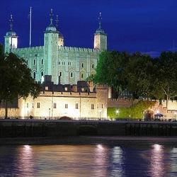 Пазл онлайн: Ночной Тауэр. Лондон