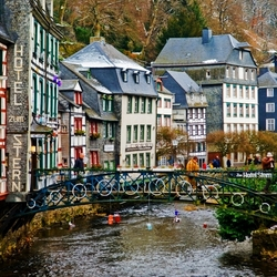 Пазл онлайн: Моншау. Германия