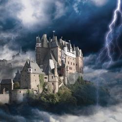 Пазл онлайн: Замок Эльц