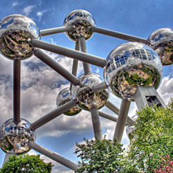 Пазл онлайн: Атомиум. Брюссель