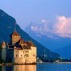 Пазл онлайн: Шильонский замок. Швейцария