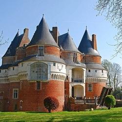 Пазл онлайн: Замок Рамбюр. Франция