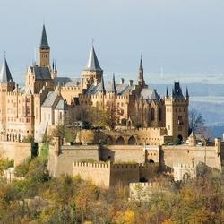 Пазл онлайн: Замок–крепость Гогенцоллерн, Германия