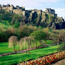 Пазл онлайн: Замок Эдинбург. Шотландия