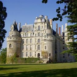 Пазл онлайн: Замок Бриссак. Франция