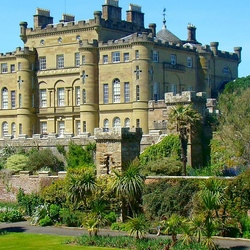 Пазл онлайн: Замок Калзин. Шотландия