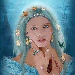 Пазл онлайн: Дочь моря
