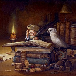 Пазл онлайн: Мемуары старого пирата