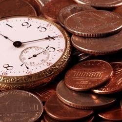 Пазл онлайн: Время - деньги