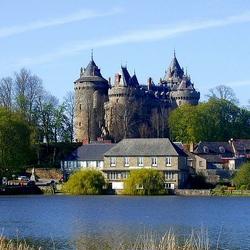 Пазл онлайн: Замок Комбург. Франция
