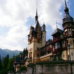 Пазл онлайн: Замок Пелеш в Синае. Румыния