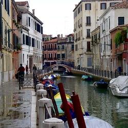 Пазл онлайн: Каналы Венеции