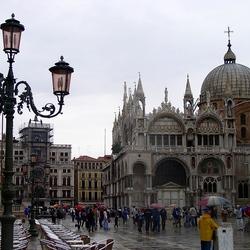 Пазл онлайн: Собор Сан-Марко. Венеция