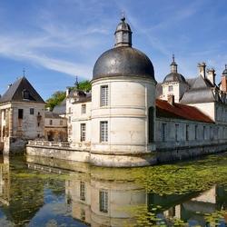 Пазл онлайн: Замок де Танле. Франция