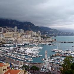 Пазл онлайн: Панорама Монако