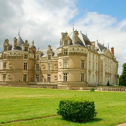 Пазл онлайн: Замок Ле Люд. Франция