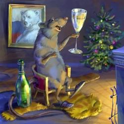 Пазл онлайн: Год крысы