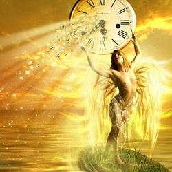 Пазл онлайн: Ангел времени