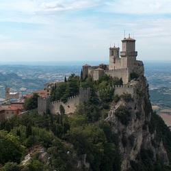 Пазл онлайн: Маленькое государство Сан-Марино