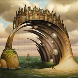 Пазл онлайн: Ракушечный залив