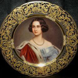Пазл онлайн: Мария Прусская, королева Баварии