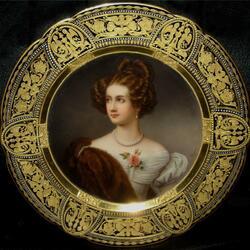 Пазл онлайн: Портрет Amalie Freiin von Kruedener