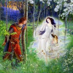 Пазл онлайн: Enchantment / Oчарование , волшебство
