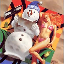 Пазл онлайн: Зимние удовольствия