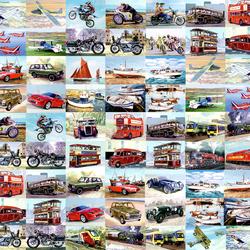 Пазл онлайн: Транспорт
