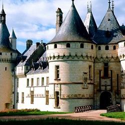 Пазл онлайн: Замок Шомон-сюр-Луар. Франция