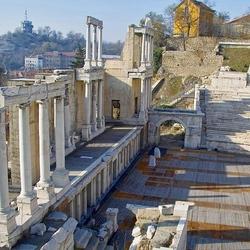 Пазл онлайн: Наследие Римской Империи в Пловдиве. Болгария